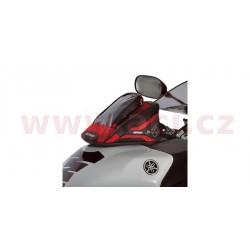 tankbag na motocykl M1R Micro, OXFORD - Anglie (černý/červený, objem 1 l)