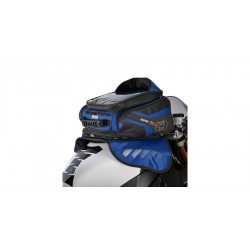 tankbag na motocykl M30R, OXFORD - Anglie (černý/modrý, s magnetickou základnou, objem 30 l)