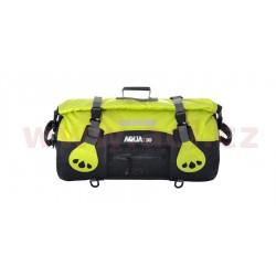 vodotěsný vak Aqua30 Roll Bag, OXFORD - Anglie (černý/fluo, objem 30 l)