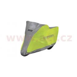 plachta na motorku Aquatex Fluo Scooter, OXFORD (žlutá fluo/stříbrná, uni velikost)