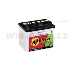 baterie 12V, U1R-32, 30Ah, 290A, pravá, BANNER GARDEN BULL 196x131x183