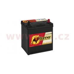 38Ah baterie, 400A, pravá BANNER RUNNING BULL EFB 187x127x204(226)  (pro vozidla Mazda, Mitsubishi, Nissan, Subaru, Toyota)