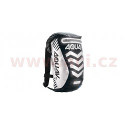 vodotěsný batoh Aqua V12 Extreme Visibility, OXFORD - Anglie (černá/reflexní prvky, objem 12 l)
