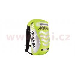 vodotěsný batoh Aqua V12 Extreme Visibility, OXFORD - Anglie (žlutá fluo/reflexní prvky, objem 12 l)