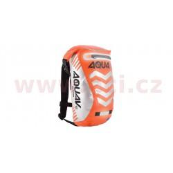 vodotěsný batoh Aqua V12 Extreme Visibility, OXFORD - Anglie (oranžová fluo/reflexní prvky, objem 12 l)