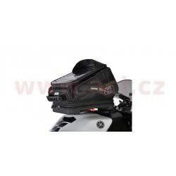 tankbag na motocykl Q30R QR, OXFORD - Anglie (černý, s rychloupínacím systémem na víčka nádrže, objem 30 l)