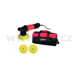 leštička excentrická KUNZER 710 W, regulace otáček 2500-5800 ot./min, včetně kotoučů a tašky